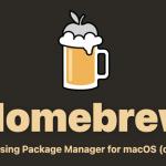 MacBookPro13(M1)にHomeBrewをインストール成功!