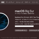 Hackintosh macOSX BigSur 11.3(20E5172i)Betaのインストール成功!